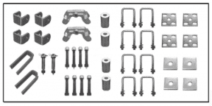 trailer axle kit